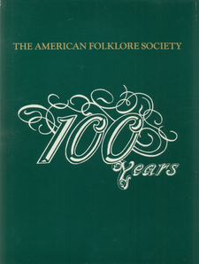 Cover image for 100 years of American folklore studies: a conceptual history