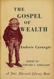 Cover image for The gospel of wealth, and other timely essays