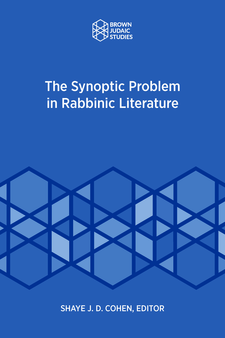 Cover image for The Synoptic Problem in Rabbinic Literature