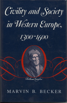 Cover image for Civility and society in western Europe, 1300-1600
