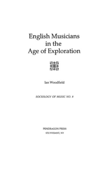 Cover image for English musicians in the age of exploration