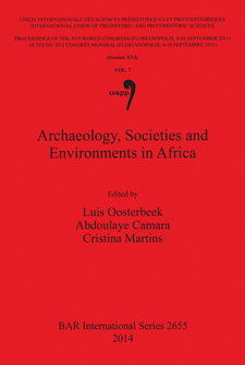 Cover image for Archaeology, Societies and Environments in Africa
