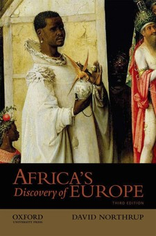 Cover image for Africa's discovery of Europe, 1450-1850