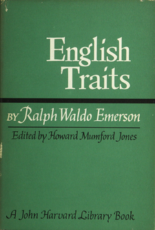 Cover image for English traits