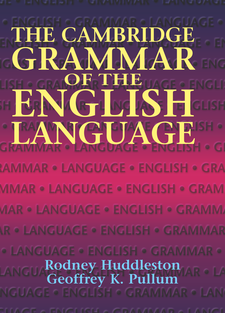 Cover image for The Cambridge Grammar of the English Language
