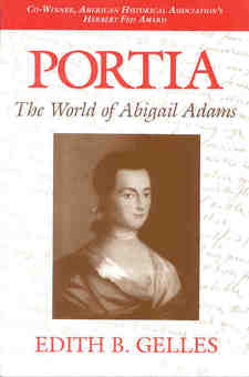 Cover for Portia: the world of Abigail Adams