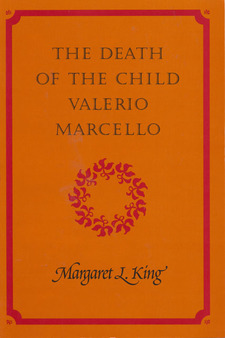 Cover for The death of the child Valerio Marcello