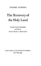 Cover image for The recovery of the Holy Land