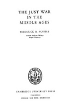 Cover image for The just war in the middle ages