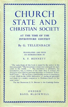 Cover for Church, state and Christian society at the time of the investiture contest