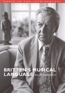 Cover image for Britten's musical language