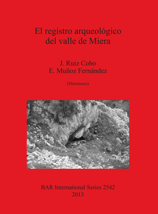 Cover image for El registro arqueológico del valle de Miera