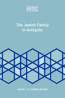 Cover image for The Jewish Family in Antiquity