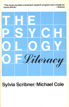 Cover image for The psychology of literacy