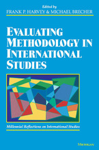 Cover image for Evaluating Methodology in International Studies