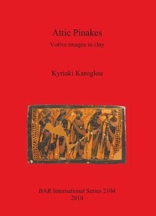 Cover image for Attic Pinakes: Votive images in clay