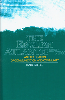 Cover image for The English Atlantic, 1675-1740: an exploration of communication and community
