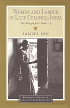 Cover image for Women and labour in late colonial India: the Bengal jute industry
