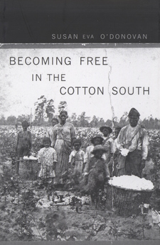 Cover image for Becoming free in the cotton South