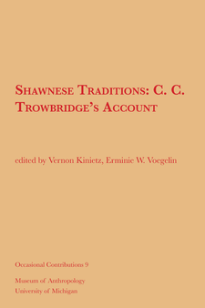 Cover image for Shawnese Traditions: C. C. Trowbridge's Account
