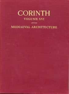 Cover for Mediaeval architecture in the central area of Corinth