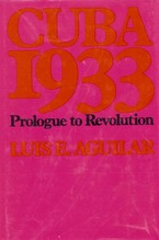 Cover image for Cuba 1933: prologue to revolution