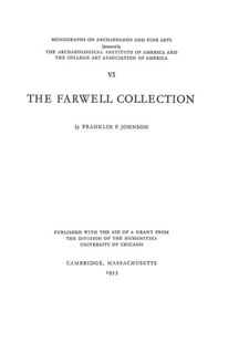 Cover image for The Farwell collection
