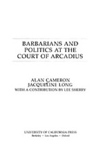Cover image for Barbarians and politics at the Court of Arcadius