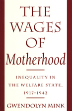 Cover image for The wages of motherhood: inequality in the welfare state, 1917-1942