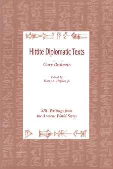 Cover image for Hittite diplomatic texts