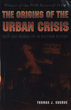 Cover image for The origins of the urban crisis: race and inequality in postwar Detroit