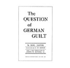 Cover image for The question of German guilt