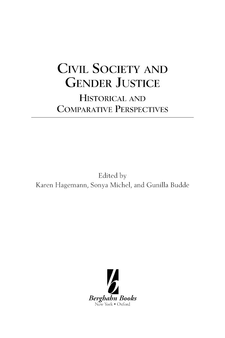 Cover image for Civil society and gender justice: historical and comparative perspectives