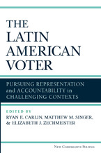 Cover image for The Latin American Voter: Pursuing Representation and Accountability in Challenging Contexts