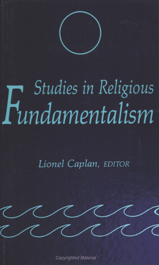Cover image for Studies in religious fundamentalism