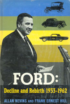Cover image for Ford: Decline and Rebirth, 1933-1962