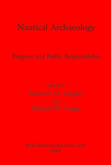 Cover image for Nautical Archaeology: Progress and Public Responsibility