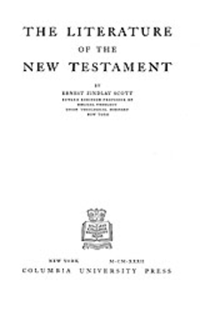 Cover image for The literature of the New Testament