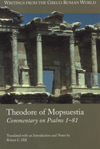 Cover image for Theodore of Mopsuestia, Commentary on Psalms 1-81