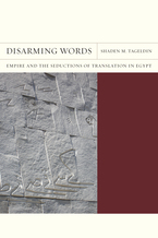 Cover image for Disarming words: empire and the seductions of translation in Egypt
