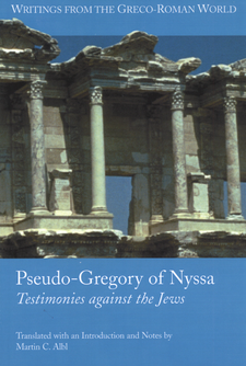 Cover image for Pseudo-Gregory of Nyssa: testimonies against the Jews