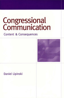 Cover image for Congressional Communication: Content and Consequences