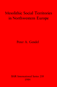 Cover image for Mesolithic Social Territories in Northwestern Europe