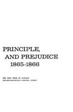 Cover image for Politics, principle, and prejudice, 1865-1866: dilemma of Reconstruction America