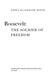 Cover image for Roosevelt: the soldier of freedom