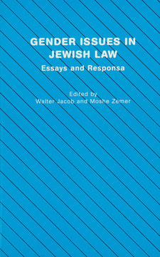 Cover image for Gender issues in Jewish law: essays and responsa