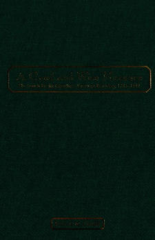Cover image for A good and wise measure: the search for the Canadian-American boundary, 1783-1842