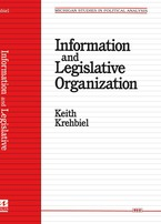 Cover image for Information and Legislative Organization