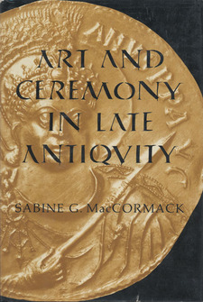 Cover image for Art and ceremony in late antiquity