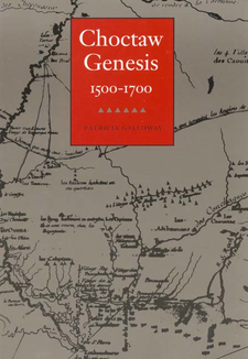Cover image for Choctaw genesis, 1500-1700